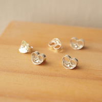 Earring Backs, Sterling Silver Butterfly Earring Backs, 925 Earring Backs