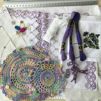 Scrap pack, soft embroidery, fabric inspiration pack (1)