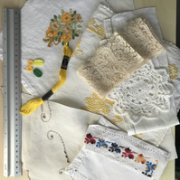 Soft embroidery, scrap pack, fabric inspiration pack (4)
