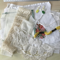 Soft embroidery, scrap pack, fabric inspiration pack (2)