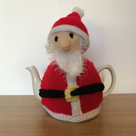Father Christmas tea cosy. 6 cup pot Charity