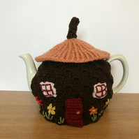 Toadstool tea cosy  to suit standard 6 cup teapot. Charity