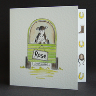 Horse Birthday Card ( Personalised )