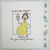 Baby Shower Card ( Personalised )