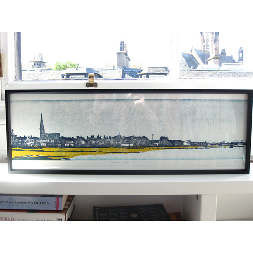 Portobello Skyline, Limited Edition Woodcut Print
