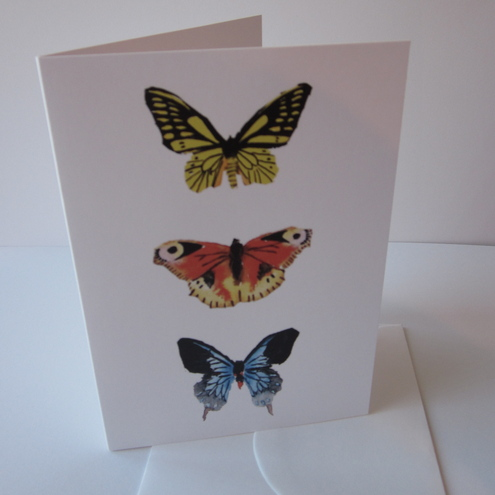 Greetings Card - Butterfly