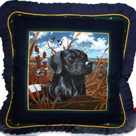 Cushions - Black Labrador