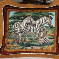 Cushions Cover  - Wildlife - Zebras