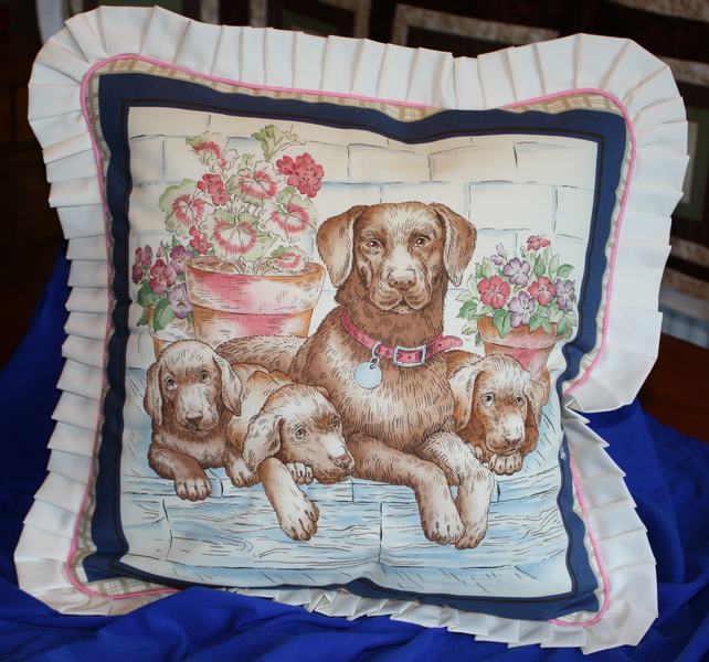 Cushions Covers - Dogs - Retrievers