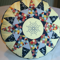 Cushions - Patchwork Nautical Star