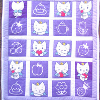 Quilts - Princess Kitty