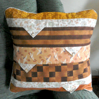 Patchwork Cushion, Patchwork Pillows,