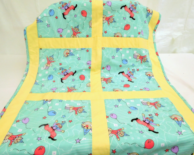 Baby Quilt - At the Circus