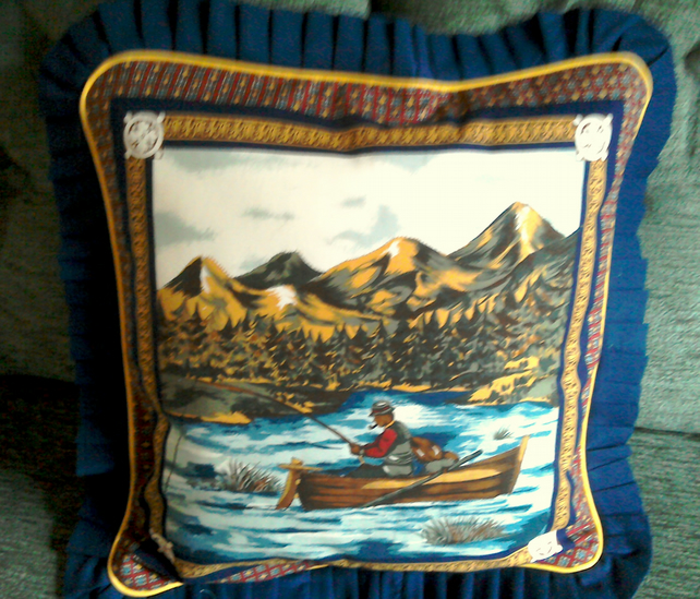Cushions Cover - Gone Fishing (1)