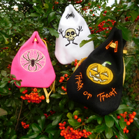Halloween Trick or Treat Gift Bag Pouches