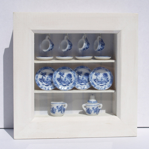 Doll's House Tea set in a box