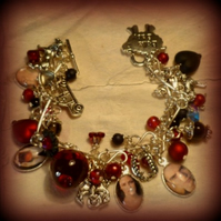 Twilight Inspired Charm Bracelet