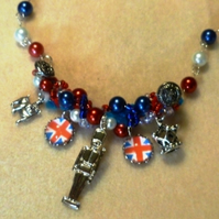 Cool Britannia Charm Necklace