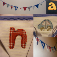 Mini personalised bunting