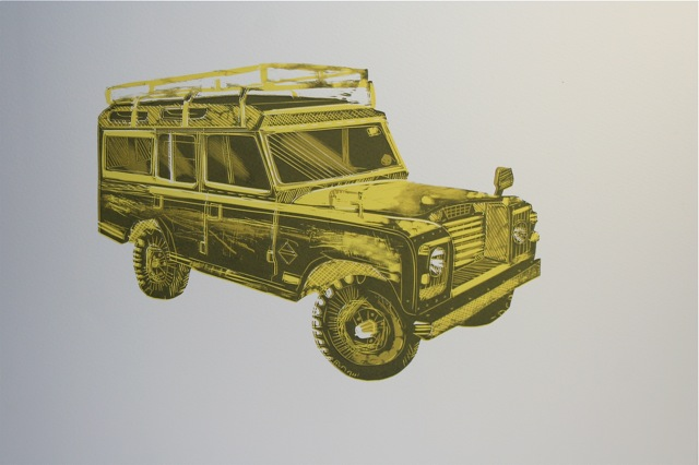 Landrover Defender - long wheelbase