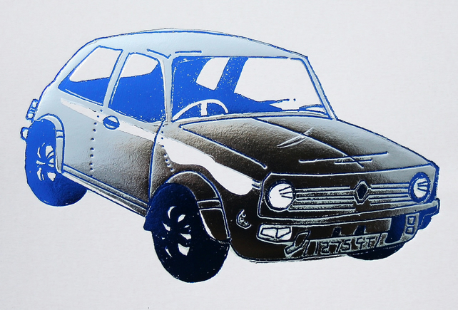 Mini Clubman 1275GT - Greetings Card
