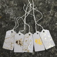 Bee and Blossom Gift Tags