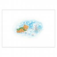 Snowbear - limited edition signed print