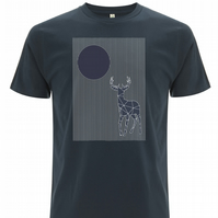 Deer and Moon T-shirt