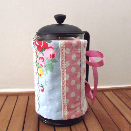 Coffee Cafetiere Cosy Patchwork