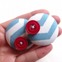 Button Shoe Clips