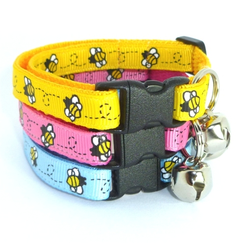 Bumblebees Kitty Collar Safety