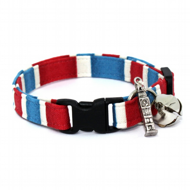 Big Ben Stripe Cat Collar