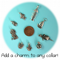 Add a Charm to any Cat Collar - Metal Charms
