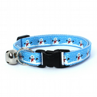 Frosty the Snowman Christmas Cat Collar