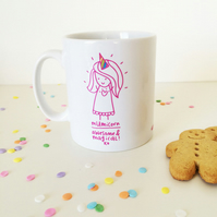 Mumicorn Mug by tee and toast