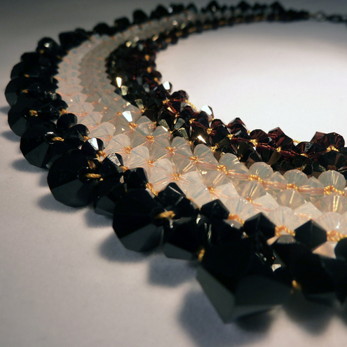Swarovski Crystal Chocolate Necklace