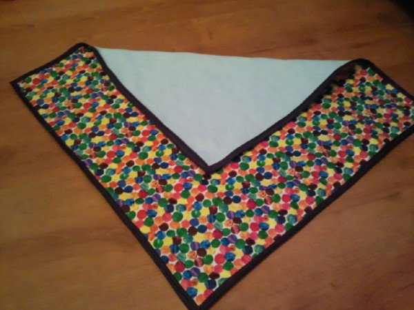 Spotty (Hungry Caterpillar) Pattern Small Blanket