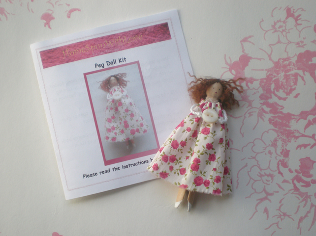 Craft kit - Peg Doll Kit