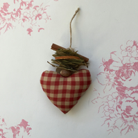 Homespun spice country heart