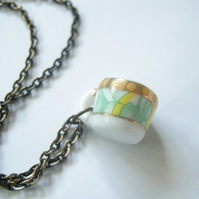 Teacup Necklace