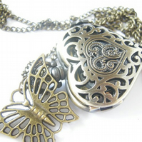 Heart Pocket Watch