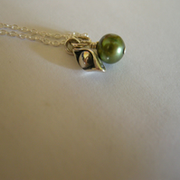 CUSTOM LISTING - 1 Pea in a Pod Necklace