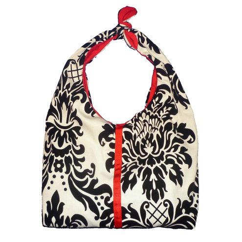 Damask shoulder bag
