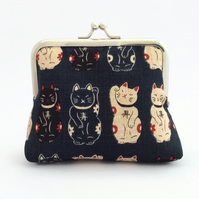 Lucky Cat Purse