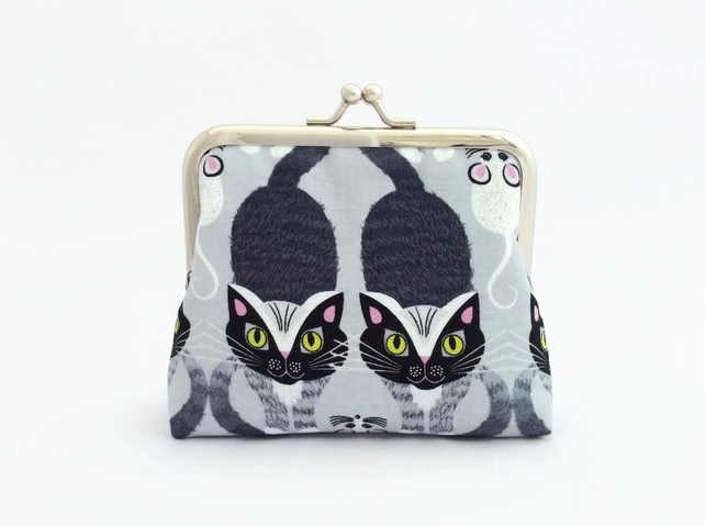 Cat and Mouse Purse