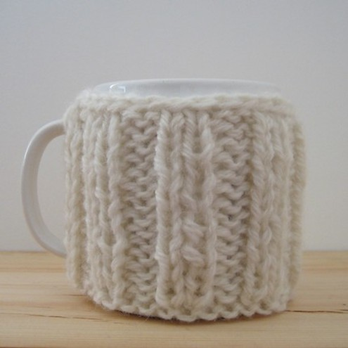 Mug Cosy in Snow White