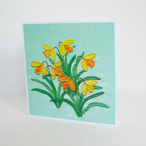 Wild Daffodils Greetings Card