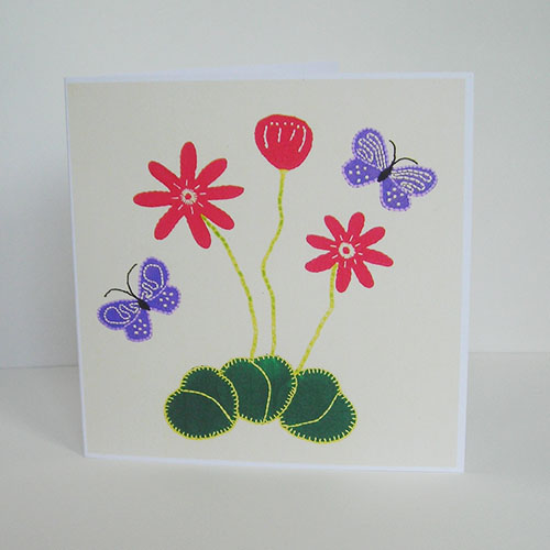 Dancing Butterflies Greetings Card