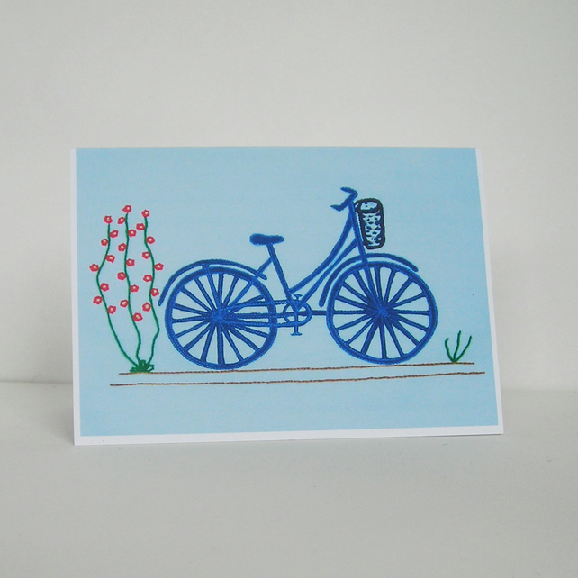 Bicycle Greetings Card
