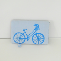 Light Blue Bicycle Mobile Phone Case